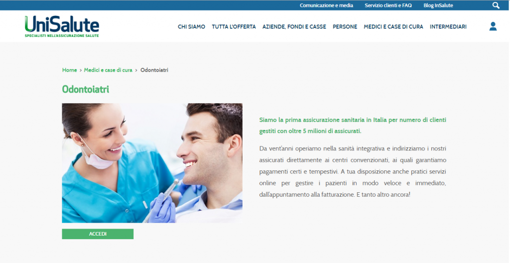 unisalute dental