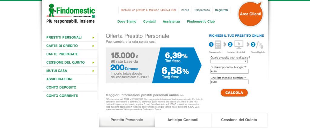 Findomestic Opinioni 2019 E Recensioni Di Prestiti Online E Interessi
