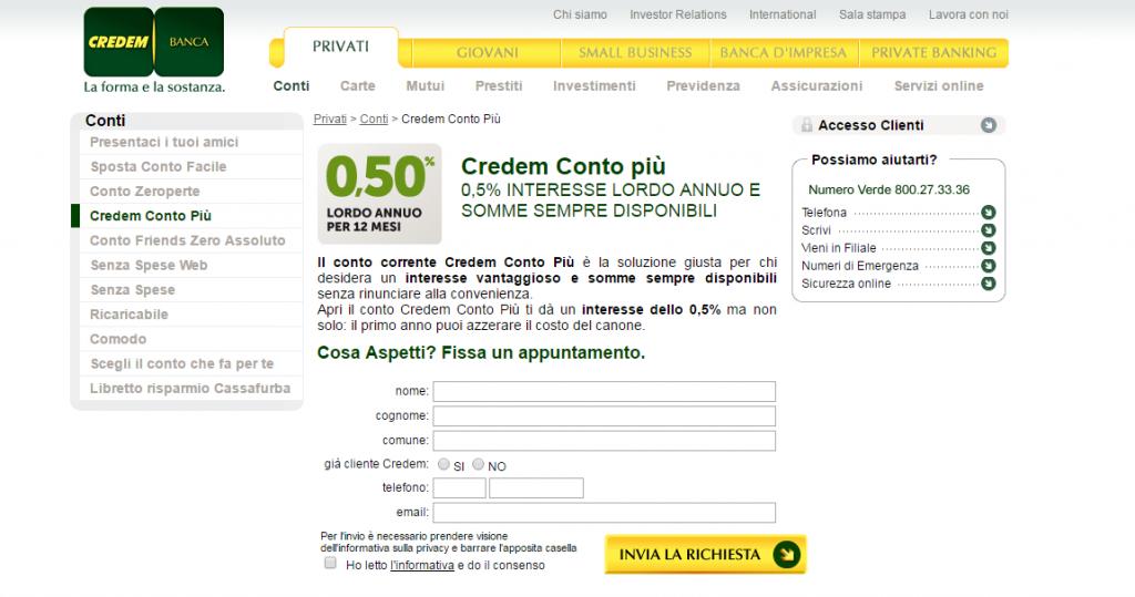 Credem Online 2020 Conto Deposito E Mutui Casa Opinioni E Commenti