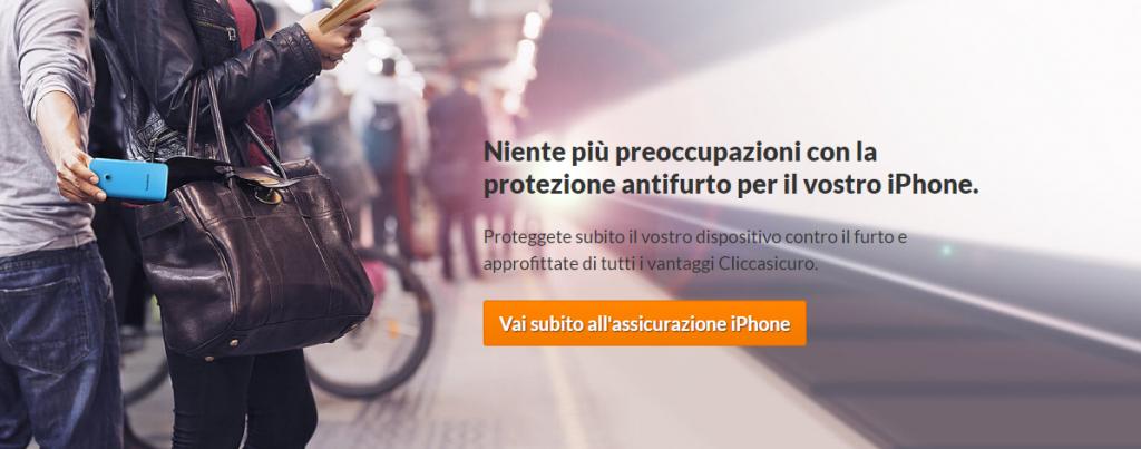 assicurazione smartphone iphone