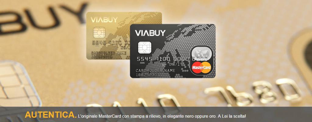 viabuy carta di credito mastercad