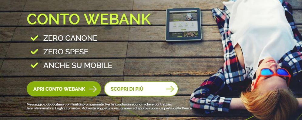 webank conto deposito