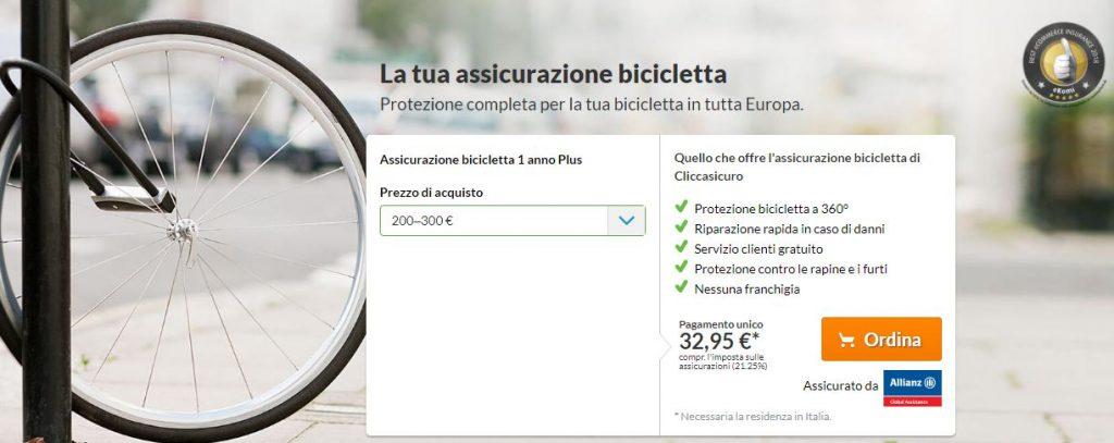 cliccasicuro bicicletta