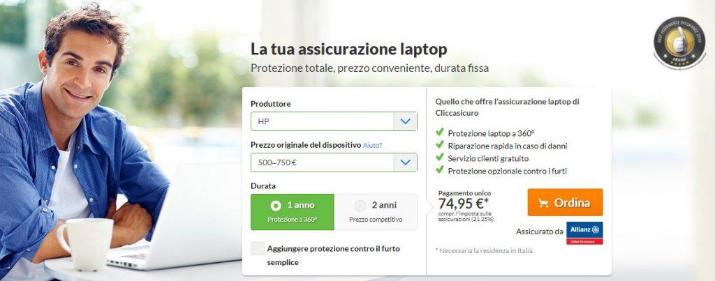 cliccasicuro laptop