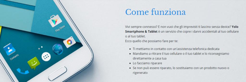 yolo assicurazione smartphone