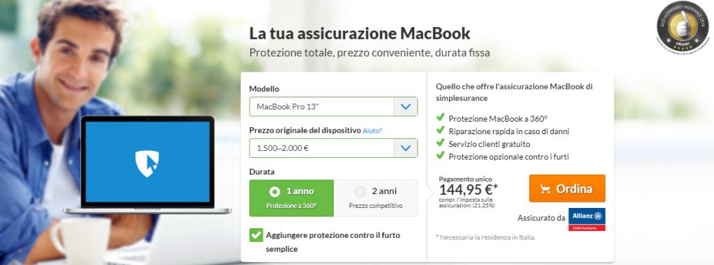 simplesurance macbook
