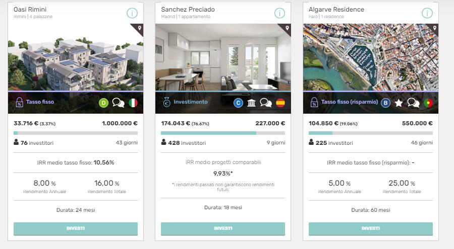 Crowdfunding immobiliare Italia